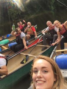SafeLane Global goes canoeing on River Wye